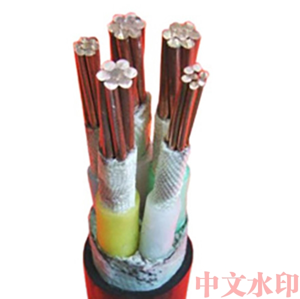 Fire-resistant power cable