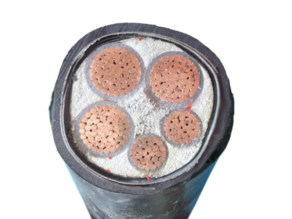 Low voltage armored power cable
